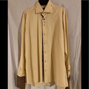 Axxess High Collar Dress Shirt